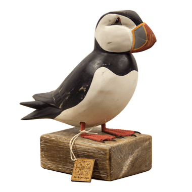 Puffin Standing Archipelago Bird Sculpture