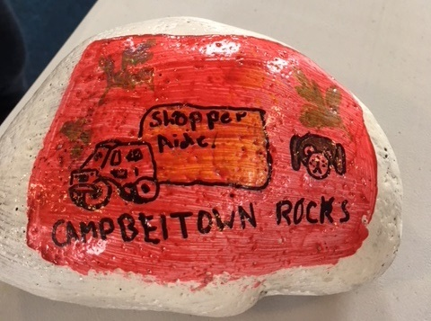 Another stone for Campbeltown Rocks