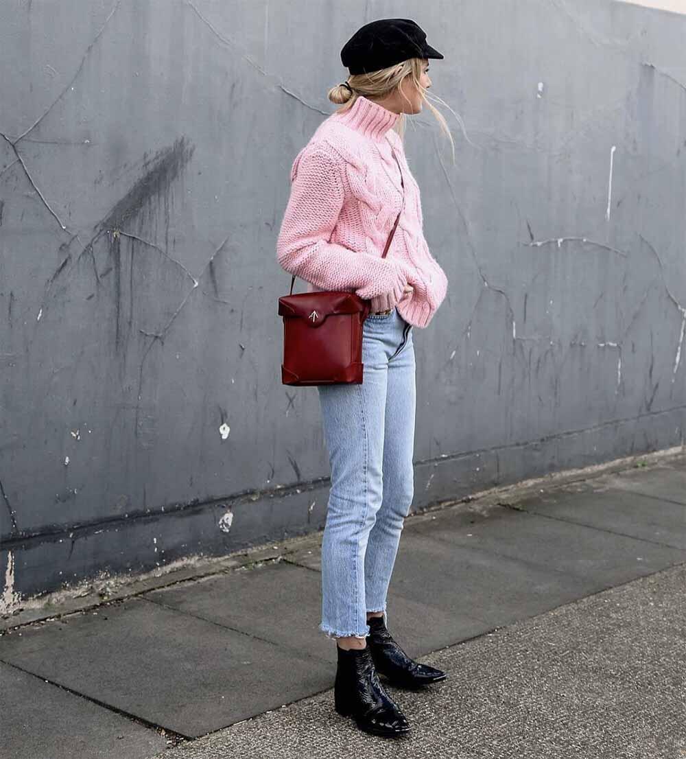 Pastel roze combineren