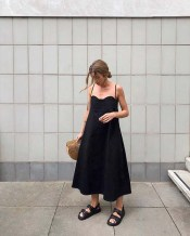 Summer outfit | black dress summer outfits