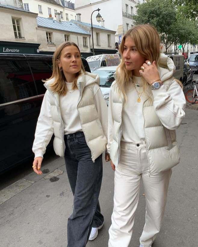 De mouwloze jas trend