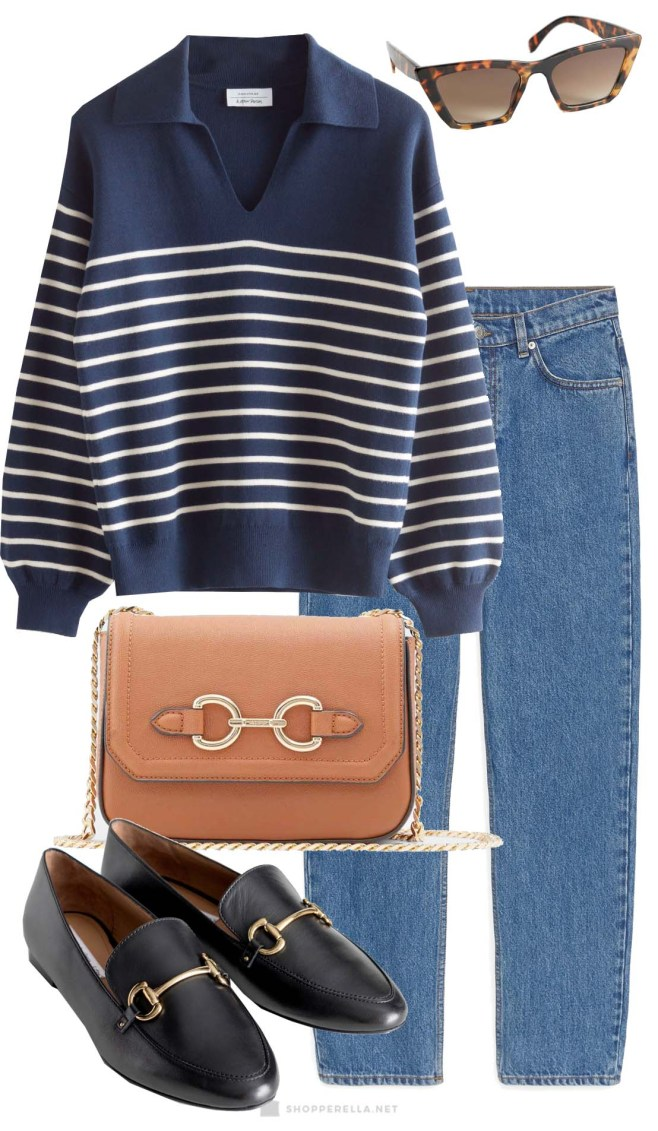 Ways To Wear A Striped Sweater