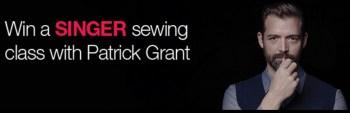 singer sewing patrick grant