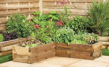 Timberdale Caledonian Corner Raised Bed double clubcard points