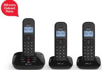 bt-3950-trio-cordless-home-phone-tesco-clubcard-points