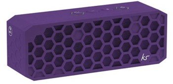 Kitsound Hive 2 Purple Bluetooth Wireless Portable Stereo Speaker