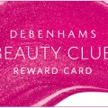 £10 of Debenhams Beauty Club points when you spend £40