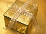 Jewelry Gift Ideas for Women -Present Wrapped in Gold-Silver