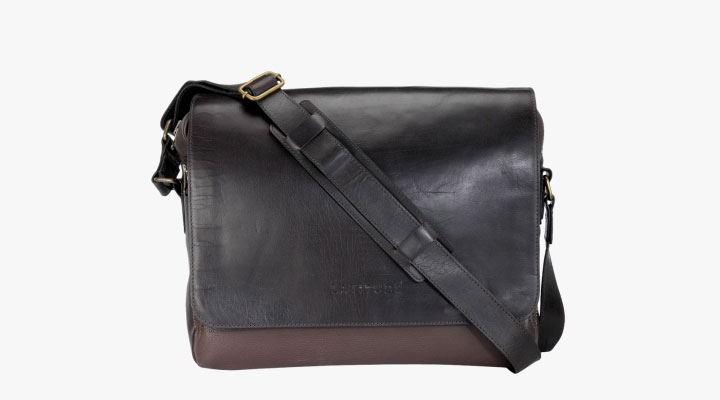 best genuine leather messenger bag