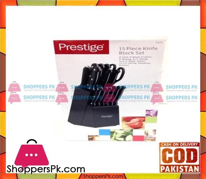 Prestige 14 Pc Knife Block Set Pr50509