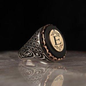 خاتم فضة ( حرف خاص )