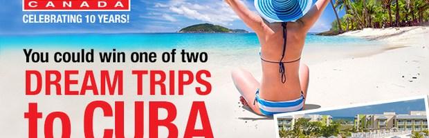 Hello! Magazine 10th Anniversary Cuba Trip Contest