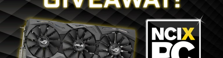 NCIX ASUS GeForce GTX 1080 Giveaway