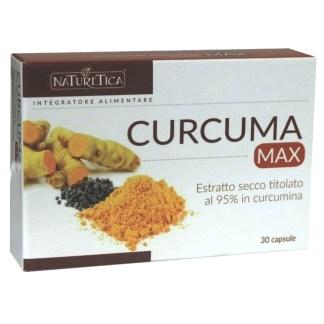 Curcuma Max antinfiammatorio antiossidante Naturetica