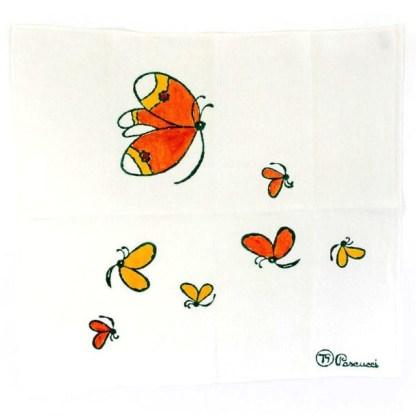 Strofinaccio Pascucci con farfalle di Tonino Guerra