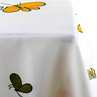 Tovaglia Pascucci con farfalle di Tonino Guerra + 6 tovaglioli