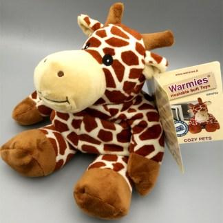 Warmies peluche termici emana calore - Giraffa