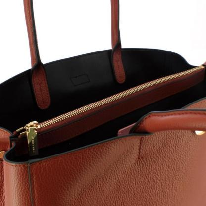 Borsa a spalla Coccinelle linea Alba modello Maxi colore Cinnamon