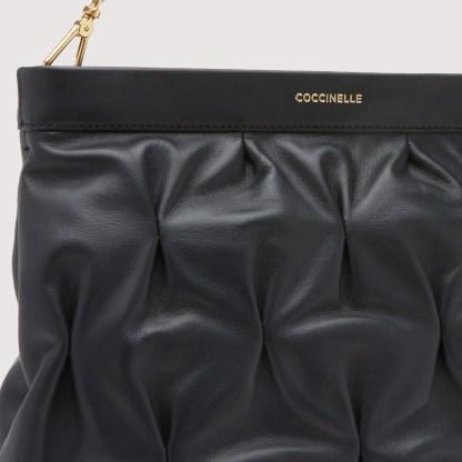 Borsa a spalla Coccinelle linea Marquise Goodie colore Noir