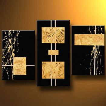 Galileo S Code Modern Canvas Art Wall Decor Abstract Oil Painting With