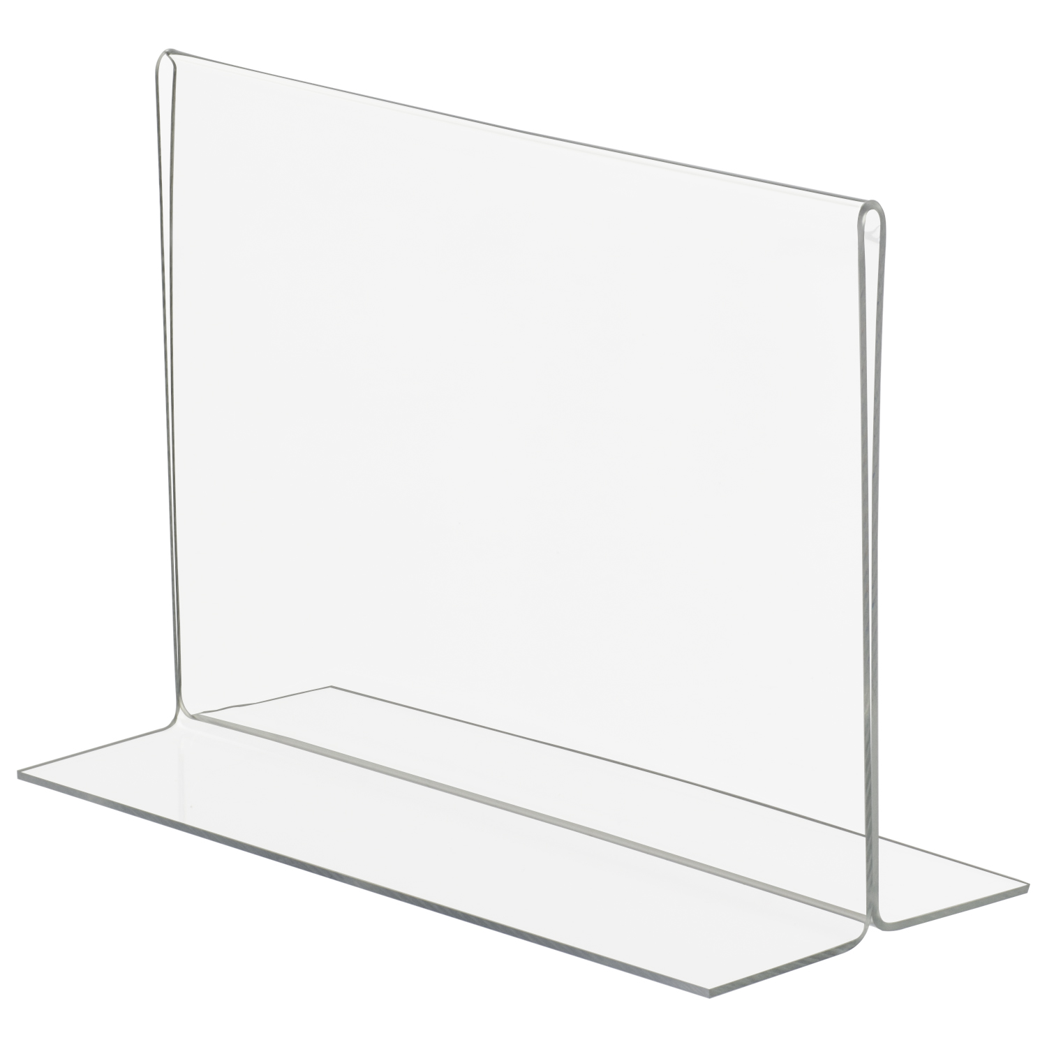 7x5 Bottom Loading Double Sided Acrylic Sign Holder