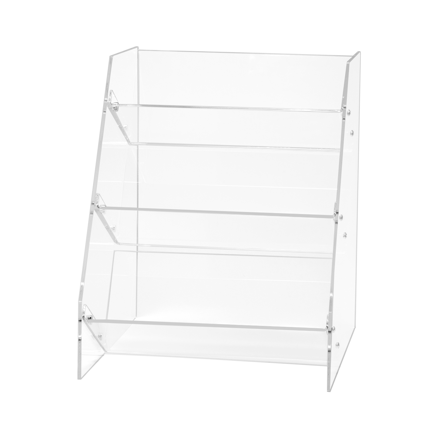 Acrylic 3 Shelf Snack Display