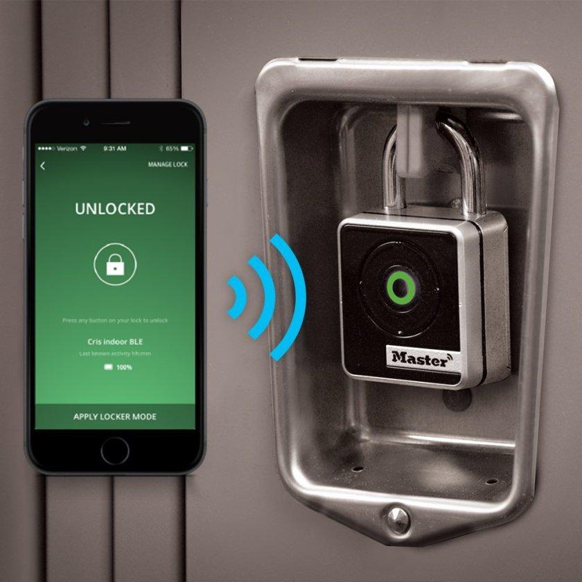 padlock, gadget,