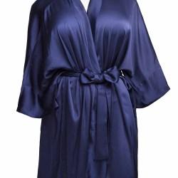 Sablier Midnight Blue Short Robe