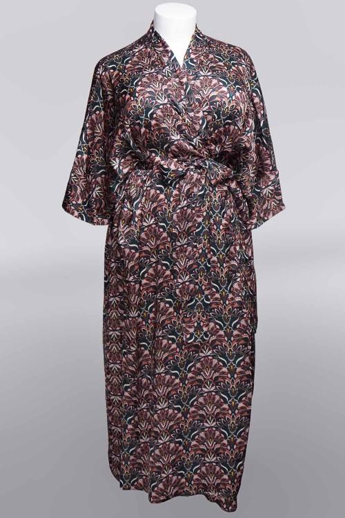 Sablier Everglade Print Long Robe