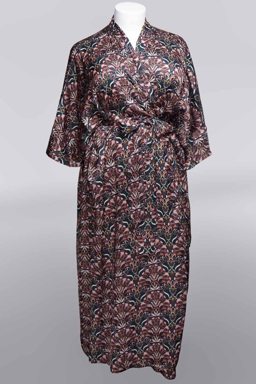 Sablier Everglade Print Long Robe