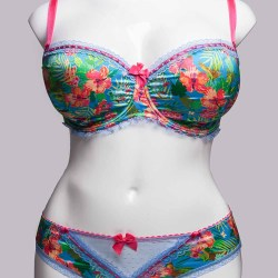 Tutti Rouge Janey Multi Bra and Brazilian Set Front View