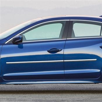 Acura ILX Chrome Body Side Moldings 2013 2014 2015