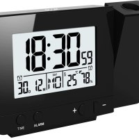 projection clock radio