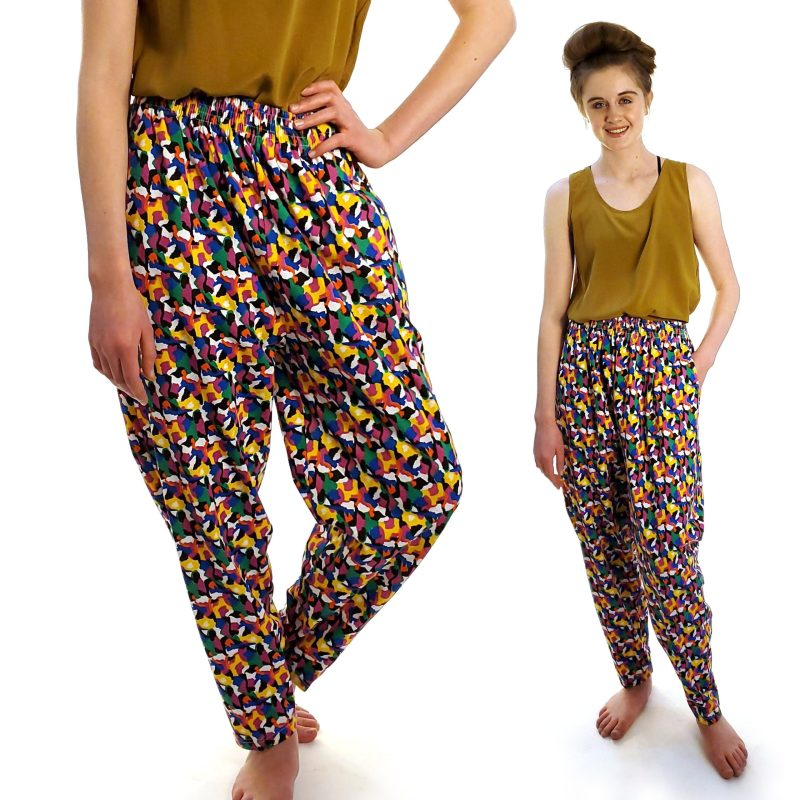 Crazy Harem Pants