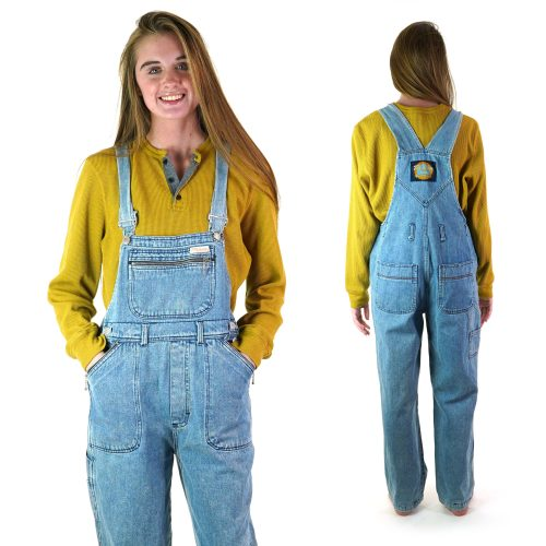 Classic Vintage 90s Denim Overalls Women's Size Medium
