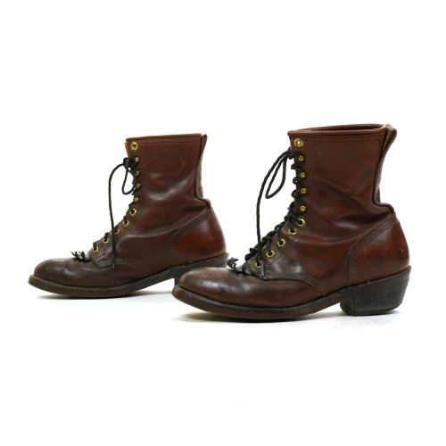 Vintage Leather Ropers Women's Size 9.5