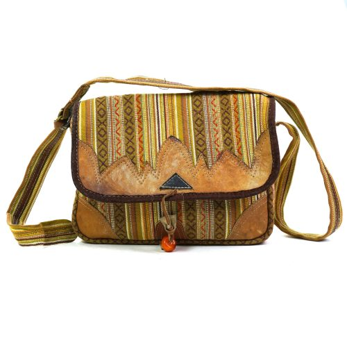 One of a kind vintage messenger bag
