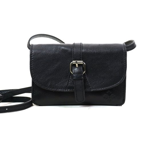 Patricia Nash Mini Leather Bag with Crossbody Shoulder Strap