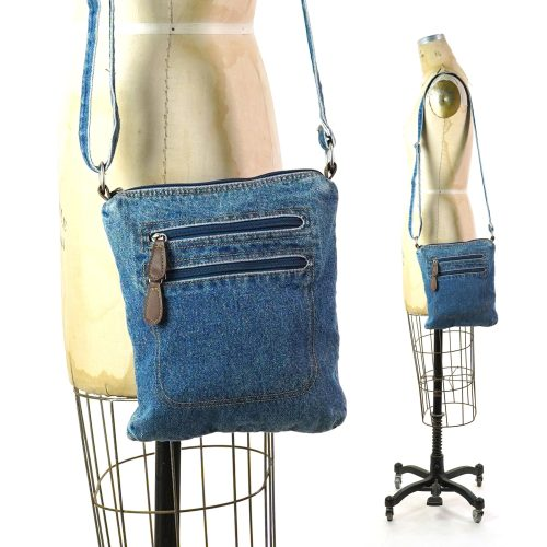90s Denim Crossbody Shoulder Bag
