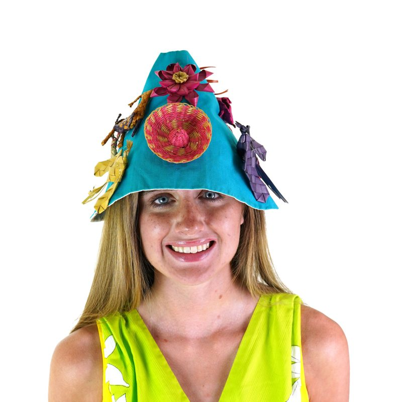 60s Handmade One of a Kind Bucket Hat