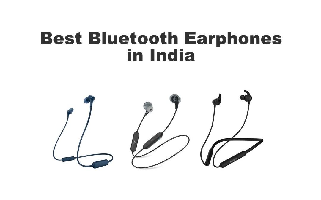Best Bluetooth Earphones in India in 2021