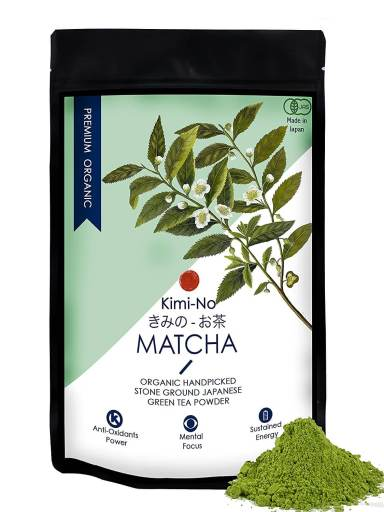 Kimino japanese organic matcha green tea powder - Best Green Tea in India