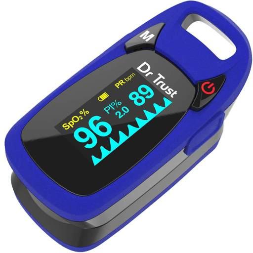 DR Trust Professional Finger tip oximeter - Best Pulse Oximeter in India