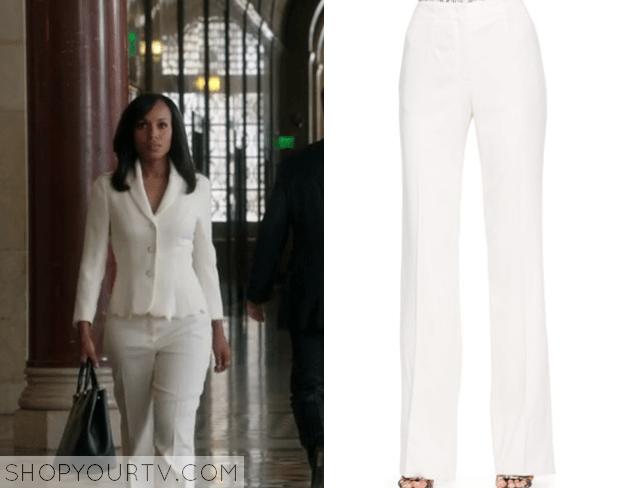olivia white pants