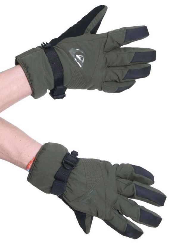 QUIKSILVER SENTENCE SNOW GLOVES Dark Army