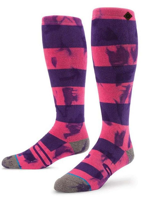 STANCE CHESHER SNOW SOCKS Pink