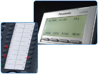 Panasonic Phone Buttons