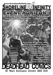 Event Horizon 3 Flyer