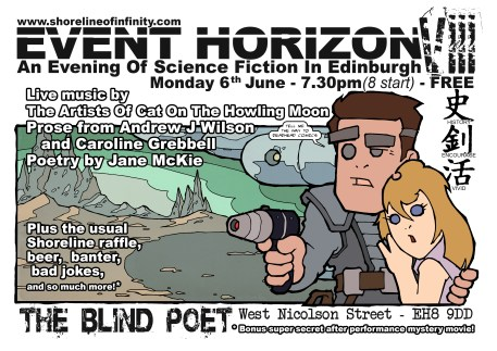 Event Horizon 8 -  6th June 2016 at the Blind Poet