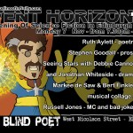 Event Horizon 13 – Monday 7th November 2016